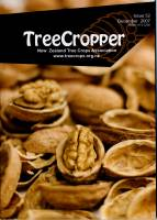 Front cover photo of cracked walnuts